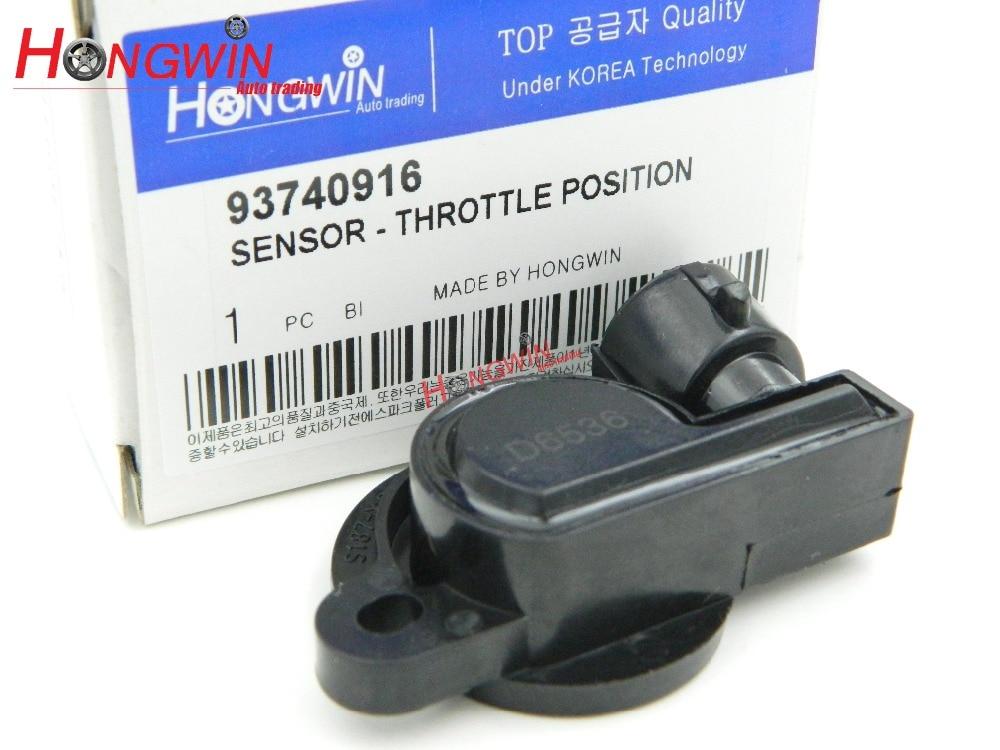 93740916 Throttle Position Sensor TPS SENSOR Fits CHEVROLET,DAEWOO 1998-2005 ADG07202/93740914/93740916/550400, 83111