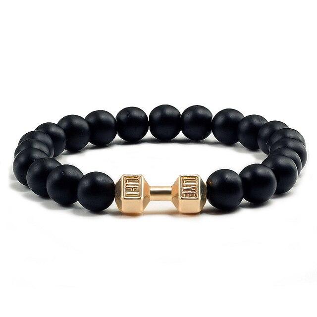 Black Lava Yoga Healin Bracelets3