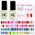 The Sets of Gel Varnish 2pcs UV Gel Set Lucky Nail LED Bling Gels Colored Gel Nail Polish Set Nails Gels Lak UV Verniz Gelpolish
