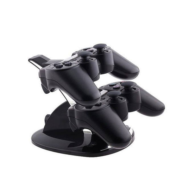T&T DUAL USB Charging LED Controller Chargers Dockingstation for Play Stations 4 Dualshock 4 PS4 Controller