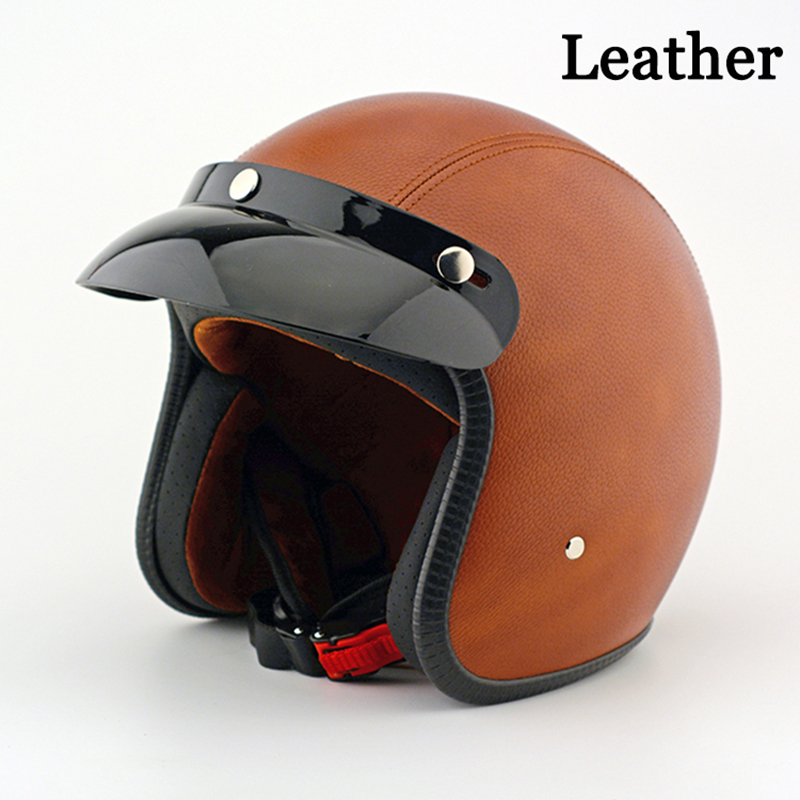 NEW outdoor sports Fashion Retro Motos Helmets Motocross Motorcycle Harley Helmet Capacete