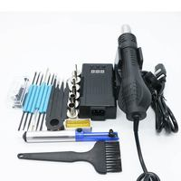 Big power 700w 220/110 Portable BGA Rework Solder Station Hot Air Blower Heat Gun 8858 Better Hand held better than YIHUA Saike