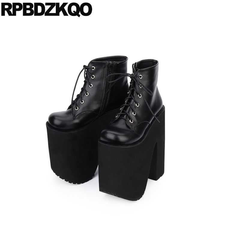 size 20cm 8 inch women Ankle Boots