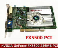 FX5500 256MB 128bit DDR VGA/DVI PCI Video Card graphic card VGA CARD