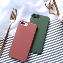 Cyato for iPhone X /8 /7 Plus Case Soft Silicone TPU Shockproof Mobile Phone Bags Cases Apple 7/ 8 Plus/ 6 /6s