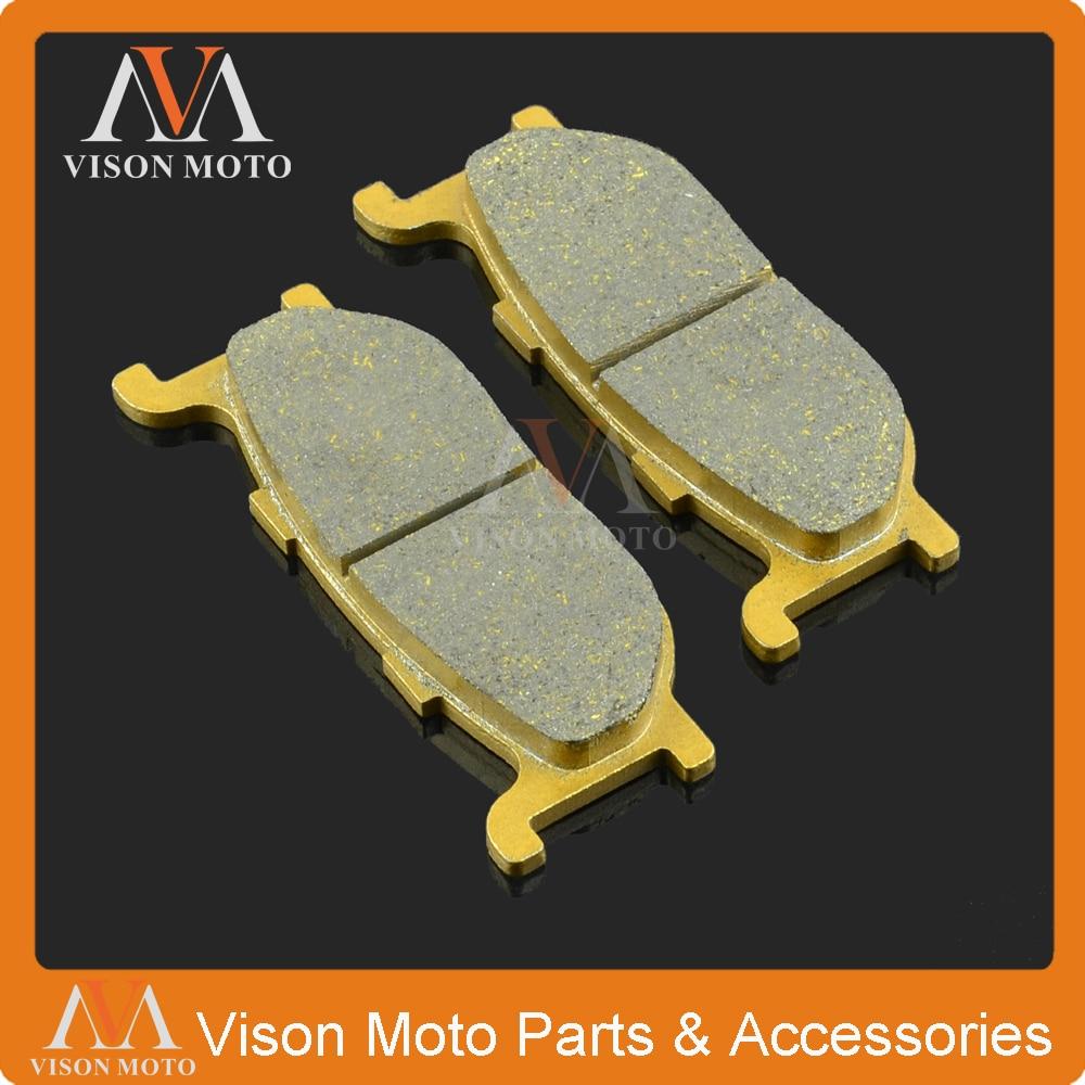 Front Caliper Brake Pads For YAMAHA FZX SRV 250 SR400 XP400 XVS400 XP500 XV535 750 1100 1600 XJ600 900 XVS 950 1300 XVZ1300 1999 2000 arctic cat 250 2x4 kevlar carbon front brake pads