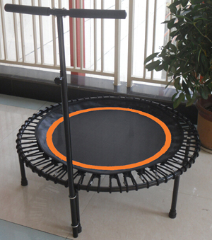 48inch Fitness trampoline with Bungee suspension spring