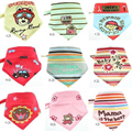 3PCS/LOT Triangular bandage Children Newborn Baby Cotton Bibs Slobber Towel Triangle Bandage Free Shipping YYT280