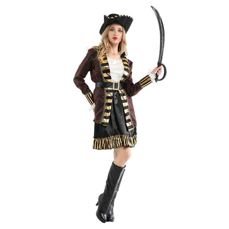 Adult Women Pirates of the Caribbean Halloween Costume 2