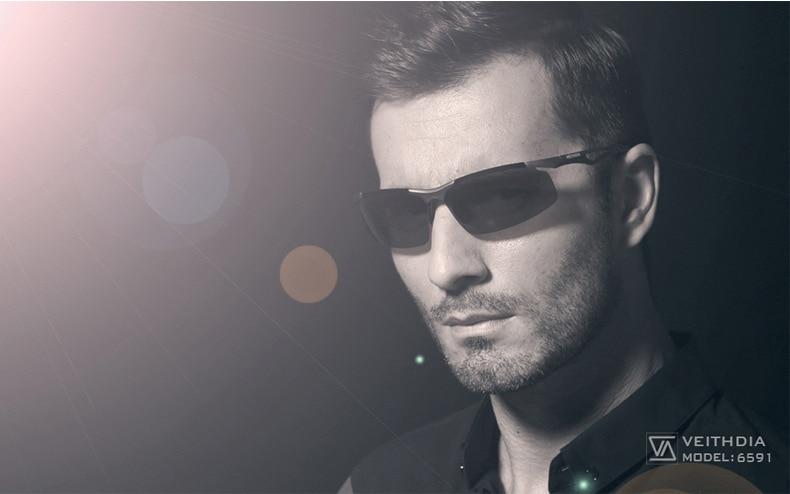 Поляризованные солнцезащитные очки в оправе из алюминиево-магниевого сплава, мужские солнечные очки, уличные аксессуары, спортивные очки, аксессуары, мужские oculos male 6591