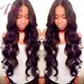 Unprocessed Natrual Color Body Wave Brazilian Virgin Hair Full Lace Human Hair Wig & Lace Front Wig For Black Women