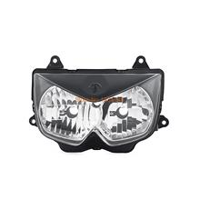 Motorcycle ABS Plastic Replacement  Headlight Headlamp Assembly Kit For Kawasaki Ninja 650R ER-6F 2006 2007 2008
