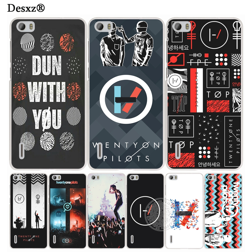 Desxz <font><b>Twenty</b></font> <font><b>One</b></font> <font><b>Pilots</b></font> 21 music band Tyler Joseph Cover <font><b>phone</b></font> <font><b>Case</b></font> for huawei Ascend P7 P8 P9 P10 lite plus G8 G7 honor 5C 2017