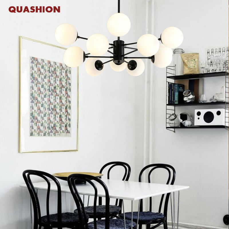 Morden DNA Modo Lamp personalized american brief glass ball white magic bean pendant light For Living Room Mall Hotel Decor uti caused by staphylococcus dna in comparison to candida dna
