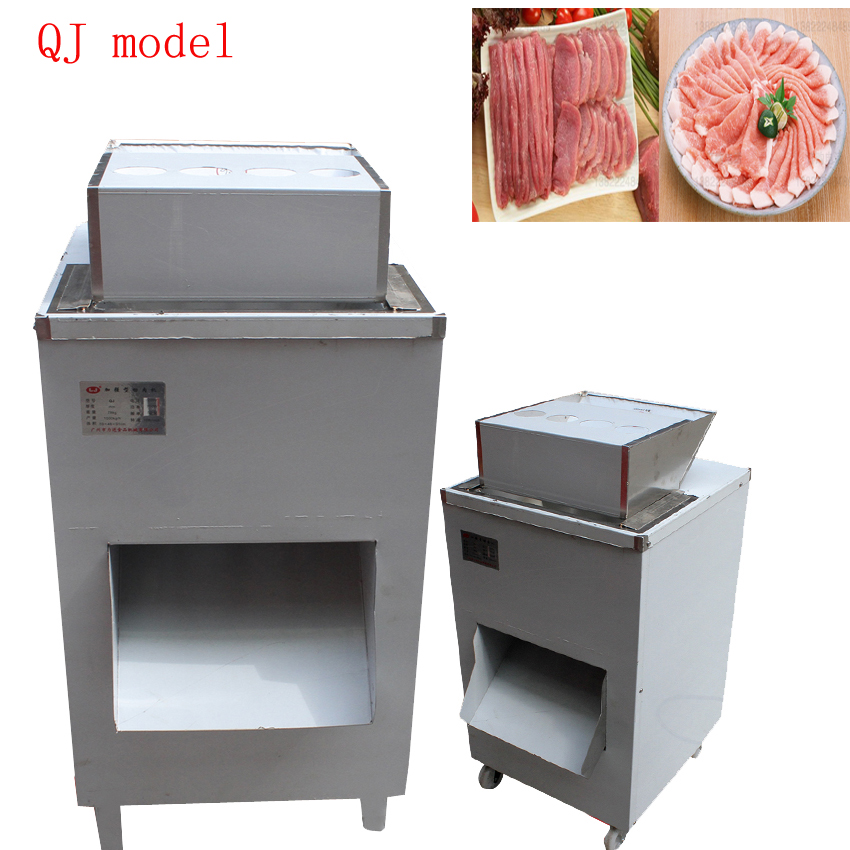 New Commercial Vertical Meat Cutting Machine Stainless Steel Meat Cutter Multifunction Electric Meat Slicer 110v/220v/380v 1pc
