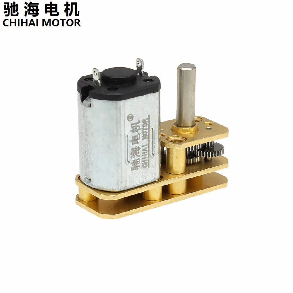 DC 12V 30RPM Mini Electric Gear Motor Gearwheel 3mm Shaft Box Motor