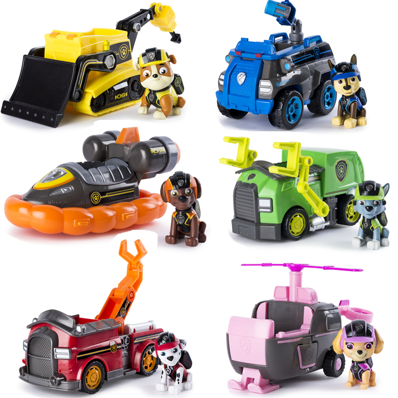 Genuine Paw Patrol Dog Toy Jungle Rescue Car Tracker Chase Everest Dog Pvc Character Action Model Children Gift For Children Buy At The Price Of 21 90 In Aliexpress Com Imall Com