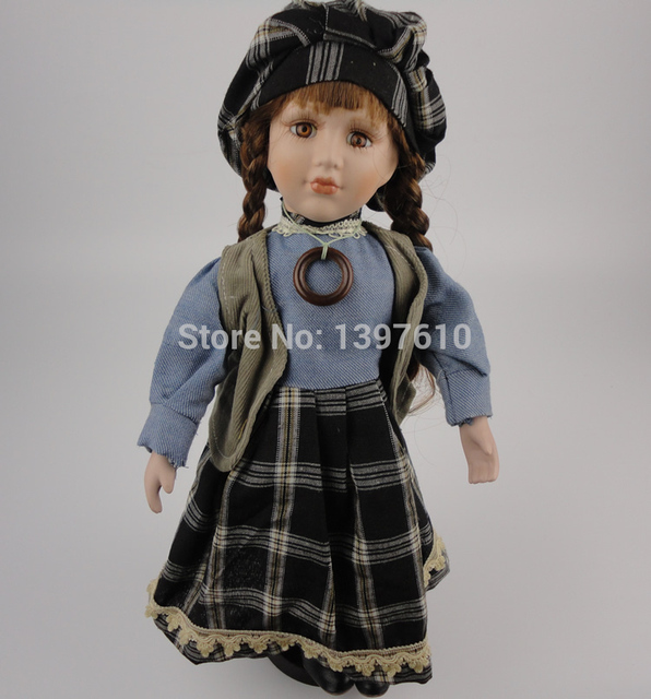 new lifelike 16inch 40cm porcelain dolls realistic real looking