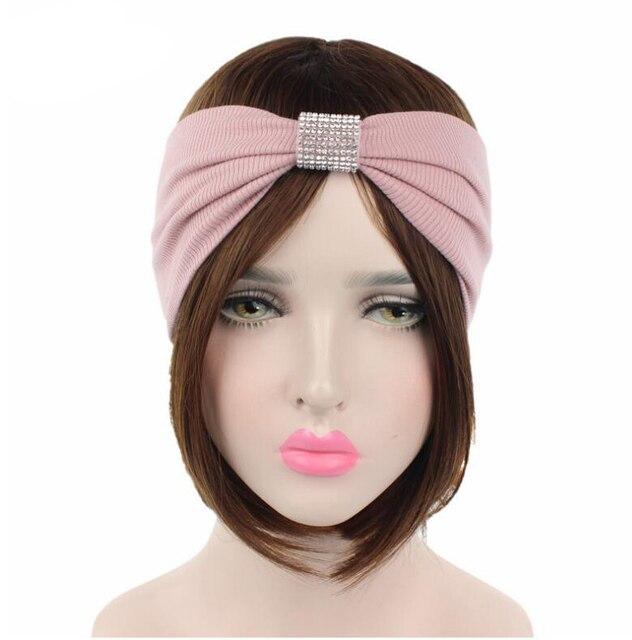 30090d89522 new fashion women headband Yoga hair band vintage hair accessory rhinestone  women hairband sports headband women headwear