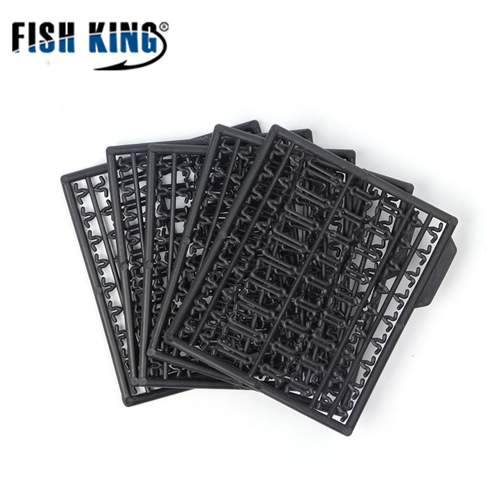 FISH KING Barrier Bars Fishing Feeder 5 Pcs/Pack Carp Fishing Tackle Lightweight Boilie Bait Lure Dumbell Stops Stoppers 630
