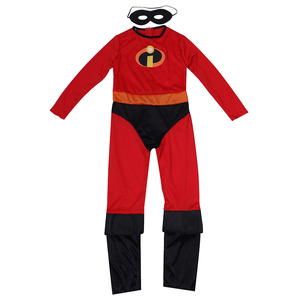 Image 2 - を超人最速ダッシュクラシック子供キッドボーイスーパーヒーローハロウィンコスプレ衣装