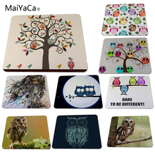 Funny Owl Animal Desk Gaming Mouse Pad Size (22x18x0.2cm)