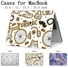 Mode pour ordinateur portable MacBook housse pour ordinateur portable housse pour MacBook Air Pro Retina 11 12 13 15 13.3 15.4 pouces tablette sacs Torba chaud
