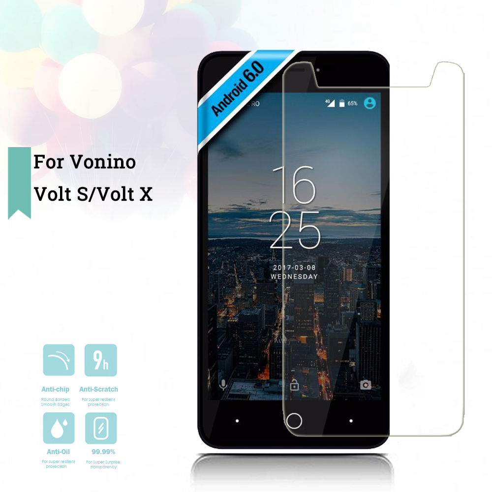 US $1 87 6% OFF|2 5D 0 26mm Ultra Thin Tempered Glass Vonino Volt S  Toughened Screen Protector Film Protective Screen Case Universal-in Phone  Screen