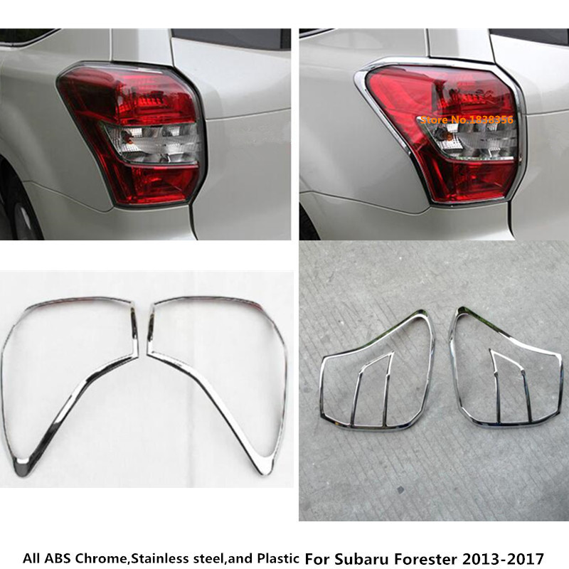 For Subaru Forester 2013 2014 2015 2016 2017 car Rear tail back Light font b lamp