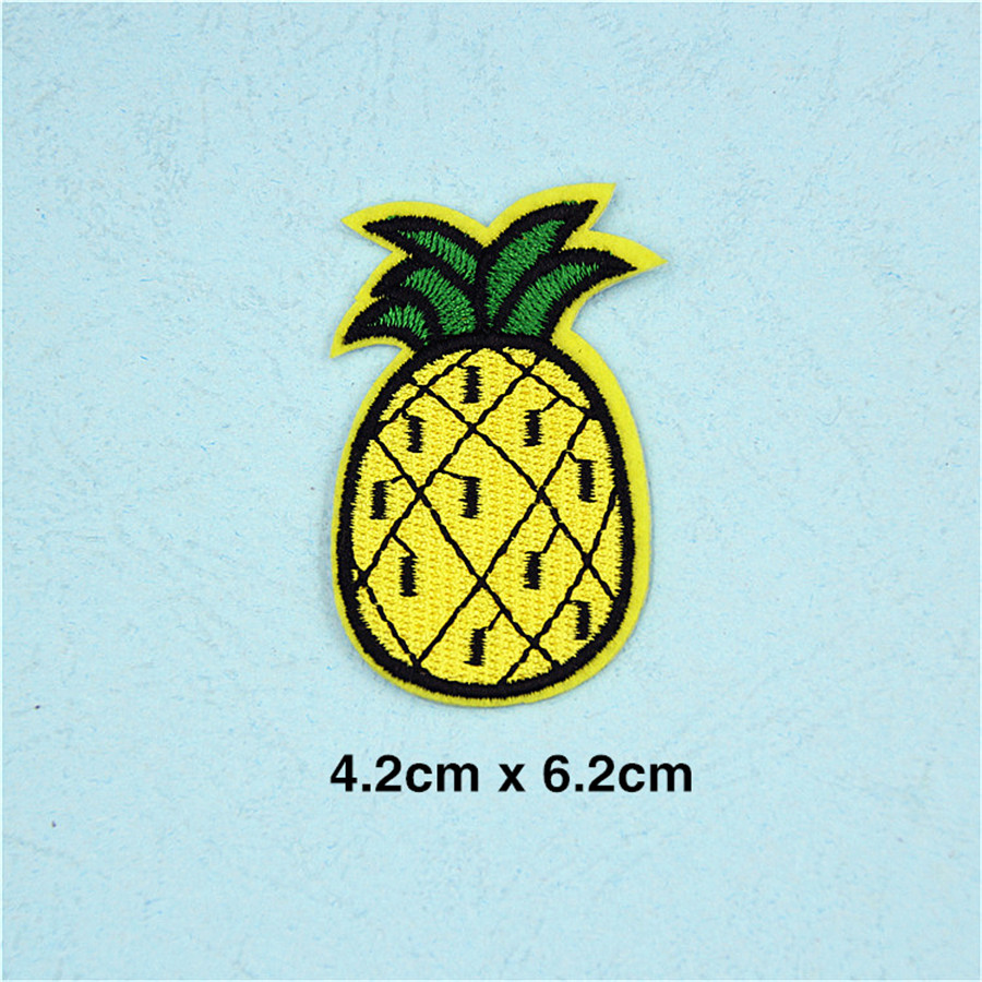 Pf Fine Stripe Fruit Patch Pineapple Embroidery For Clothing Otomobil Head Lamp Set Su Ty 20 6089 01 6b Toyota Land Cruiser Prado 2000 2001 2002 Lights Applique Accessories Tops Bag Iron On Patches Stickers Tb211 Us234