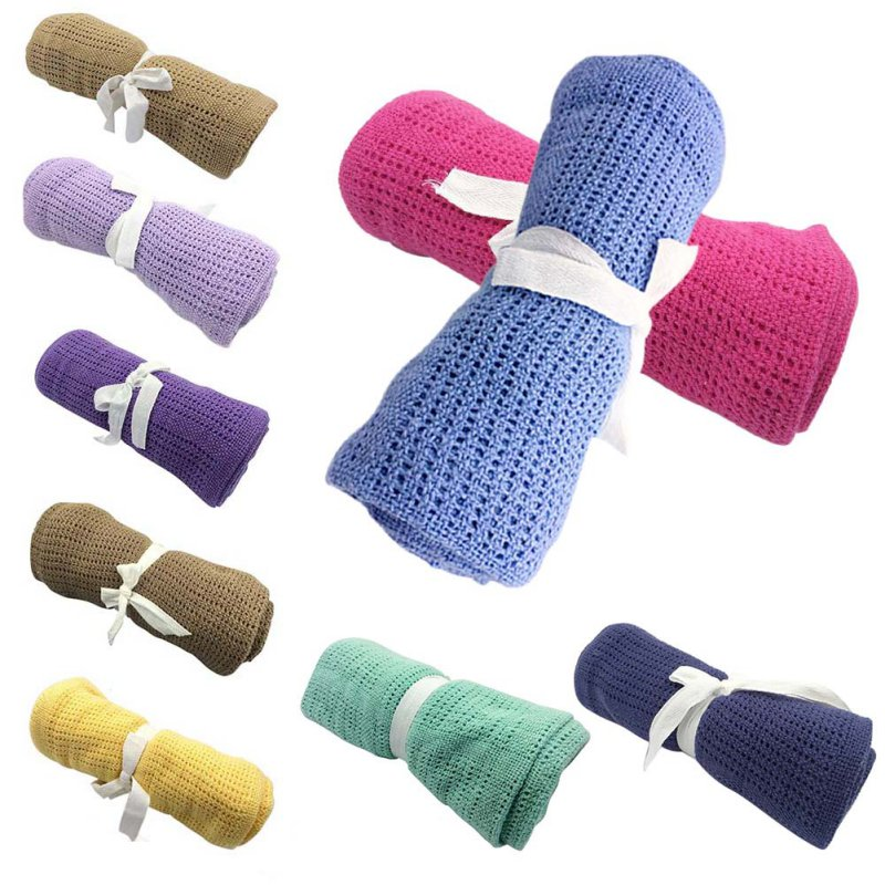 1PCS Muslim Cotton Baby Blanket Cloth Soft Newborn Blanket Bath Towel Baby Wrap Swaddle Baby Stroller Cover 2018