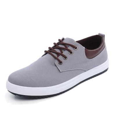 Automne Dentelle Chaussures Coton blue Jeunes Style Sport Haut Black Cheville up Printemps gray Nouveaux Bas Mode Hommes 2019 De q8wS0R0