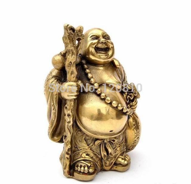 Feng shui ornaments Maitreya Buddha Lucky copper ingot gold bags suck fiscal Lucky enrichmentFeng shui ornaments Maitreya Buddha Lucky copper ingot gold bags suck fiscal Lucky enrichment