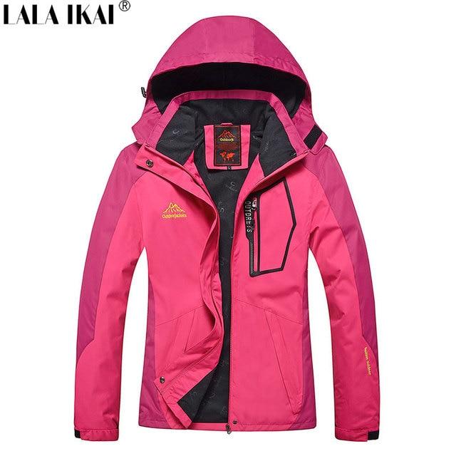 Jacket Women Windproof Waterproof Autumn Thermal Outdoor Camping Hiking Jackets Female Rain Jacket Windstopper HWA0255-5