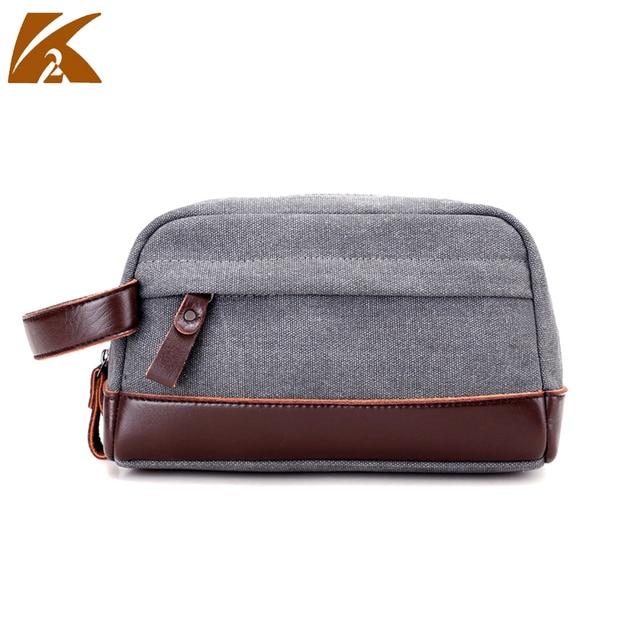 02e735a8fc US $8.15 10% OFF man bag small fashion handbags 2017 mens pouch vintage  canvas bag for phone cigarette purse travel money hand bag clutches  women-in ...