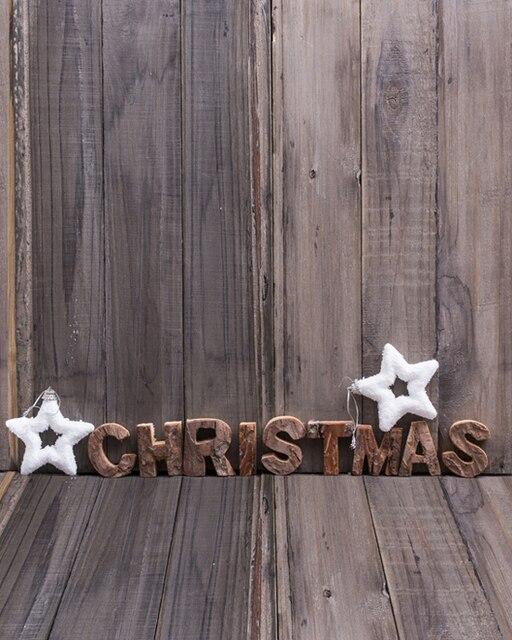8x12ft weihnachten brief sterne holz plank wand holzplatte benutzerdefinierte fotografie studio. Black Bedroom Furniture Sets. Home Design Ideas