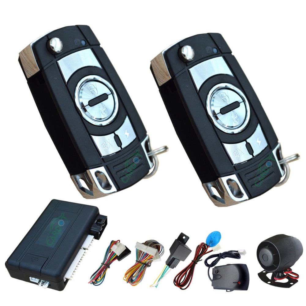 small resolution of keyless car alarm with remote start function big sound siren shock sensor alarm and motion alarm remote anti hijacking ce pass in burglar alarm from