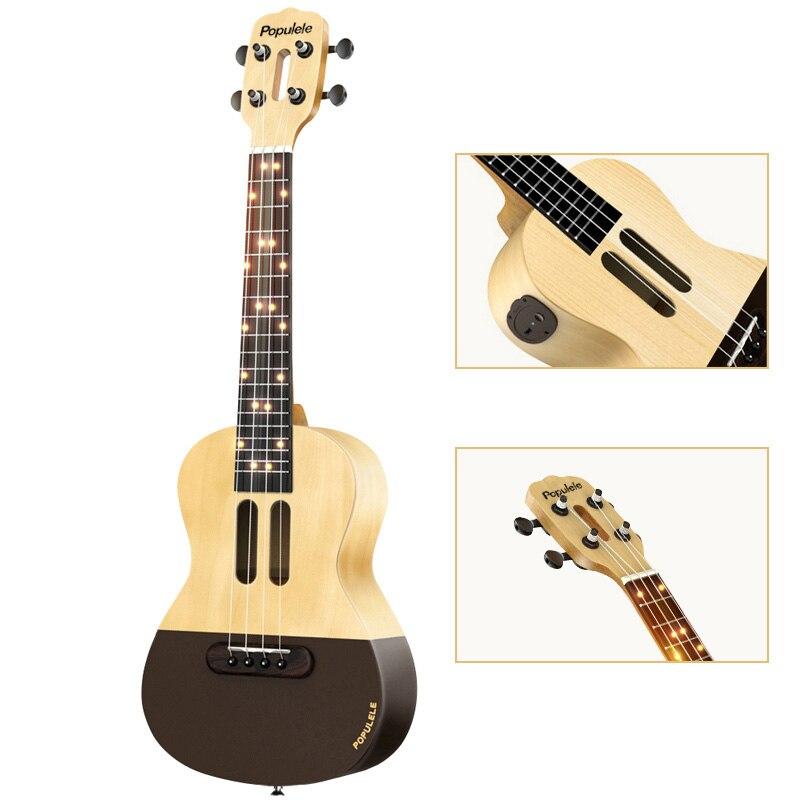 Populele U1 Smart ukulélé Concert Soprano 4 cordes 23 pouces guitare électrique acoustique de Xiaomi APP Phone Guitarra ukulélé - 3