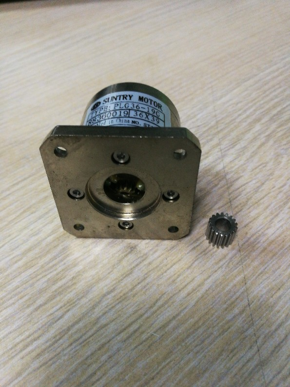Planetary reducer 36mm diameter Square flange for the assembly NEMA17 motor shaft diameter 3.175mm stepper motor ratio 720:1 поло мужское oodji lab цвет белый синий 5l412293m 47898n 1075g размер xl 56