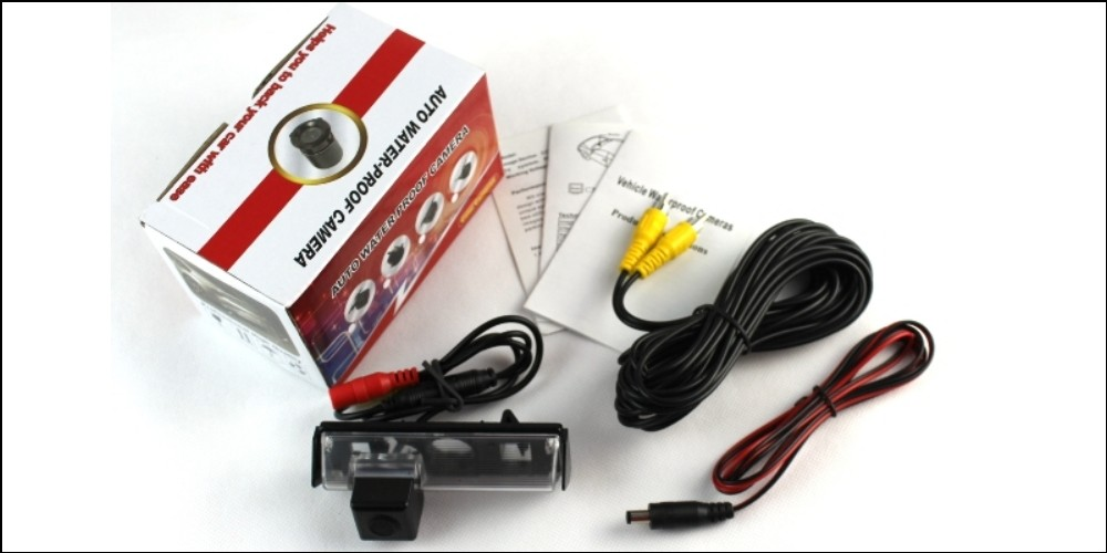 Car Camera For TOYOTA Avensis T250 T270 2003~2014 High Quality Rear View Back Up Camera For CCD with RCA Package