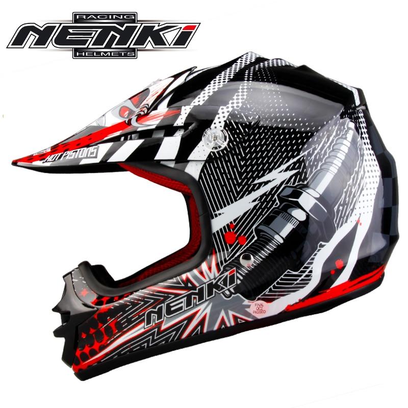 (1pc&3colors) Professional Children Motorcycle Motocross Helmet Racing Casque Moto Capacetes Casco Helmets XS 52-54cm Nenki 303