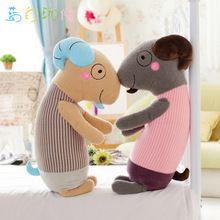 42cm/62cm Kawaii Goats Plush Toy Pillow Kids Toys for Children's Gift