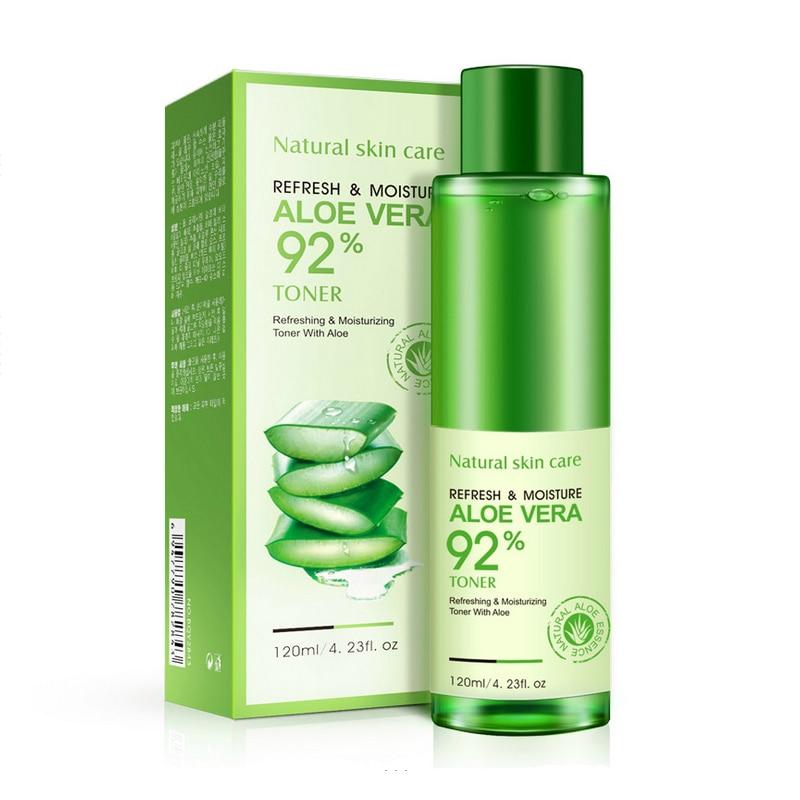 BIOAQUA 2017 New Aloe Vera Moisturizing Toner Hyaluronic Acid Skin Care Refreshing Whitening Acne Treatment Face Care Cosmetics
