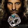 Anel de Barahir Aragorn Gondor o Hobbit o senhor dos anéis senhor dos anéis eua tamanho No.7 - 10