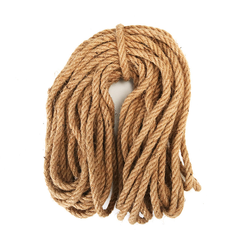 4 MM 10 M Beiswin DIY Weaving Premium Natural Sisal Rope For Cat Tree Scratching Post Toy Cat Climbing Frame Desk Binding Rope Handmade Accessories