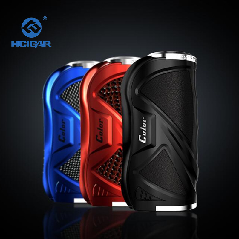 цены Original HCigar VT75 Color 75w Box Mod TFT Screen Evolv DNA E-Cigarette Chip New Products mod for vape Electronic Cigarette Mod