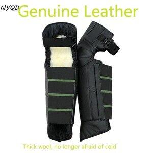 Genuine Leather woof kneepad W