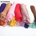 40*150cm Baby Girl Photography Props Stretch Baby Wraps Mohair Unisex Infant Blanket Cotton Knit Soft Studio Props Accessories