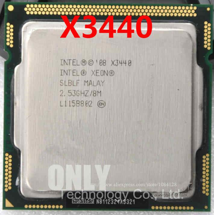 شحن مجاني intle المعالج زيون X3440 وحدة المعالجة المركزية ، /2.53 GHz/LGA1156/8 MB/رباعية النواة/I5 650 i5 750 i5-760