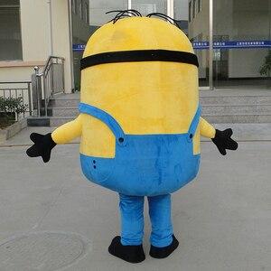 Image 4 - Minion mascotte Cosplay Costume pour adultes dessin animé vêtement soja poupée vêtements